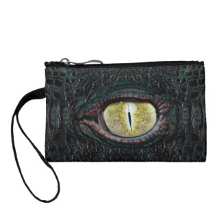 Classic Alligator Bagettes Bag Coin Purse