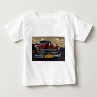 Classic American car in Vinales, Cuba Baby T-Shirt