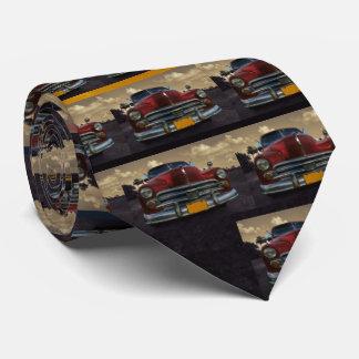 Classic American car in Vinales, Cuba Tie
