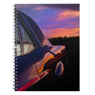 Classic American Car Notebook