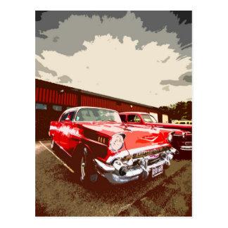 Classic American Car Postcard