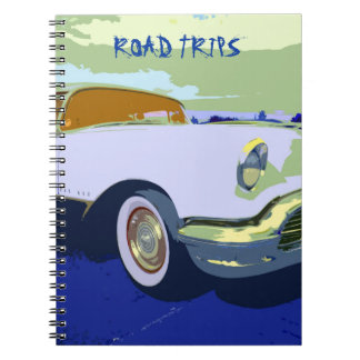 Classic American Car Road Trips Notebook