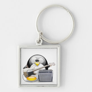 Classic American Guitar and Amplifier Tux Key Ring