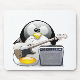 Classic American Guitar and Amplifier Tux Mouse Mat