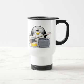 Classic American Guitar and Amplifier Tux Stainless Steel Travel Mug