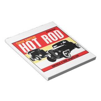 Classic American Hot-Rod notepad Notepads