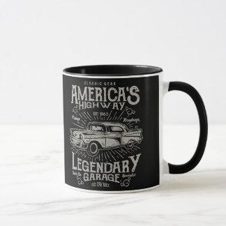 Classic American Muscle Car | Hotrod's Highway Mug