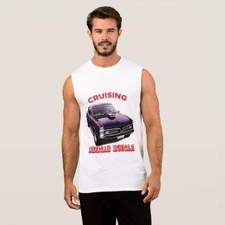 Classic American Muscle Car Sleeveless Shirt