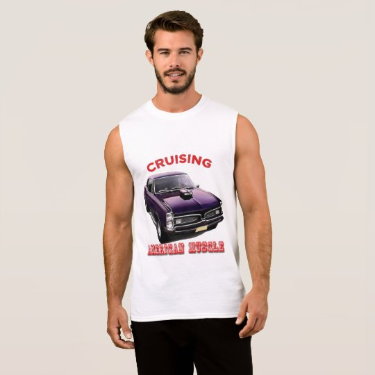 Classic American Muscle Car Sleeveless Shirt