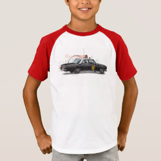 Classic American Police Car T-Shirt