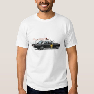 Classic American Police Car T-shirts