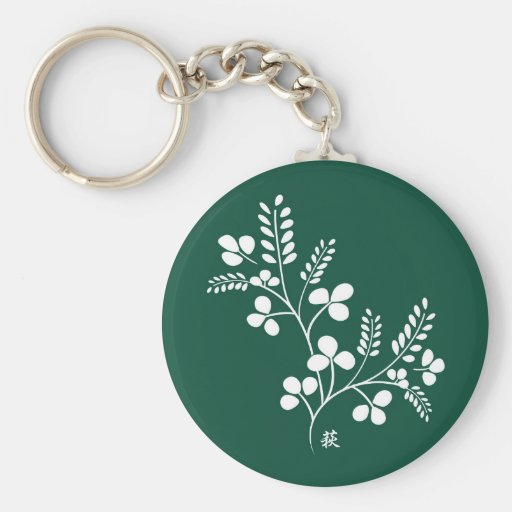 Classic and Chic Japanese Flower Series - Hagi Keychains