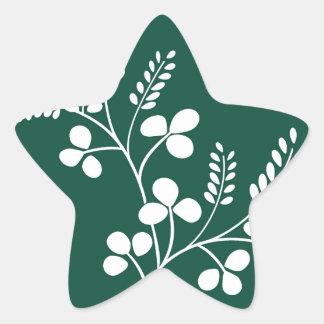 Classic and Chic Japanese Flower Series - Hagi Star Sticker