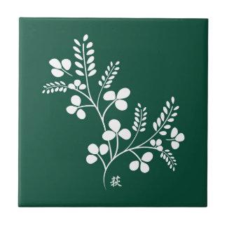 Classic and Chic Japanese Flower Series - Hagi Ceramic Tile