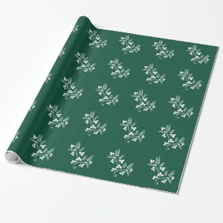 Classic and Chic Japanese Flower Series - Hagi Wrapping Paper