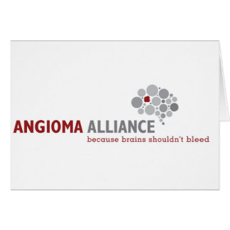 Classic Angioma Alliance Logo Gear Card