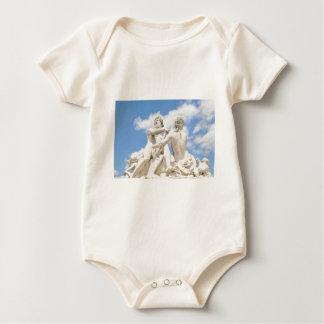 Classic architecture baby bodysuit