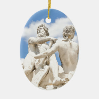 Classic architecture christmas ornament