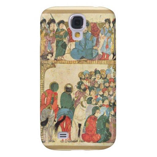 Classic Asian antique panel HTC Vivid Covers