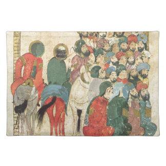 Classic Asian antique panel Placemat