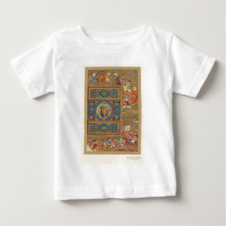 Classic Asian Art decorative panel Baby T-Shirt