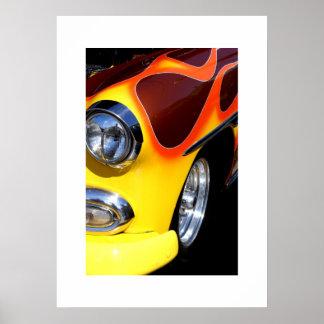 Classic Auto Poster