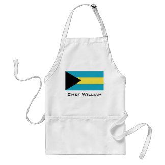 Classic Bahamian Flag Standard Apron