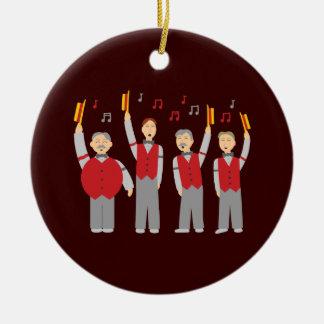 Classic Barbershop Quartet Christmas Ornament