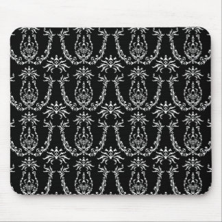 Classic Baroque Mousemat in Black