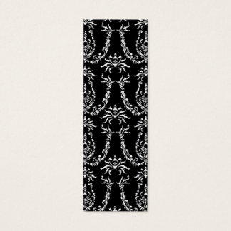 Classic Baroque Pattern Bookmark Mini Business Card
