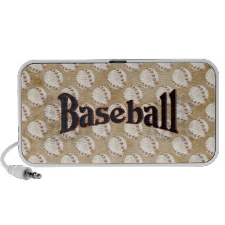Classic Baseball Laptop Speakers