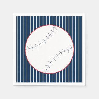 Classic Baseball Party Napkins Paper Serviettes