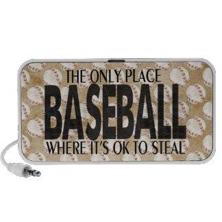 Classic Baseball saying Portable Speaker