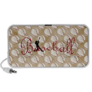 Classic Baseball Portable Speaker