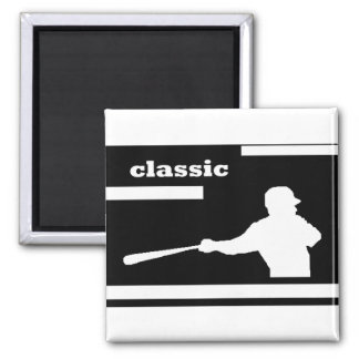 CLASSIC BASEBALL SWING MAGNET