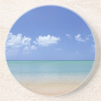 classic beach day coaster