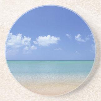 classic beach day drink coaster