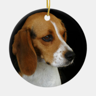 Classic Beagle Christmas Ornament
