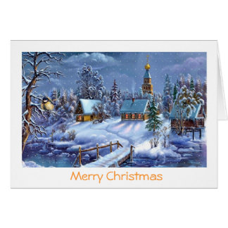 Classic beautiful vintage Christmas picture Cards