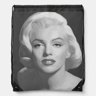 Classic Beauty 4 Drawstring Bag