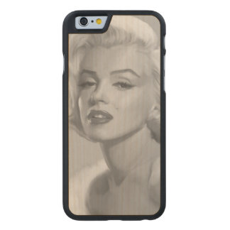 Classic Beauty Carved® Maple iPhone 6 Slim Case