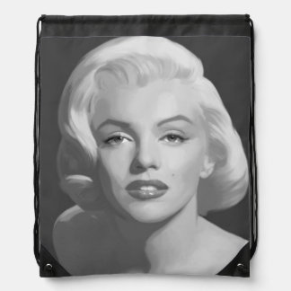 Classic Beauty Drawstring Bag