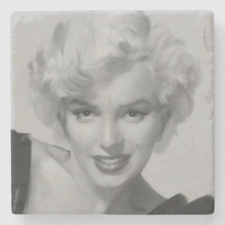 Classic Beauty III Stone Coaster