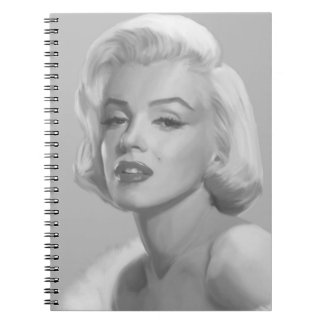 Classic Beauty Spiral Notebook