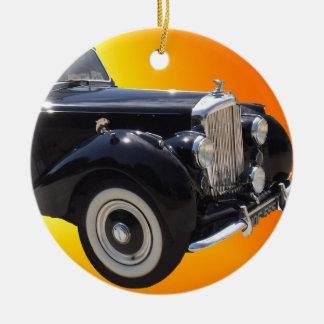 Classic Bentley Round Ceramic Decoration
