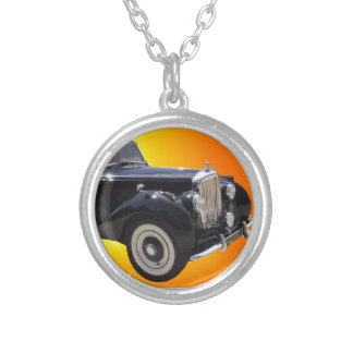 Classic Bentley Silver Plated Necklace