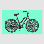 Classic Bicycle Products Rectangular Sticker