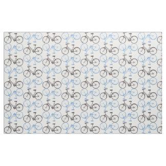 Classic Bike Cotton Fabric