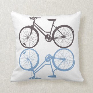 Classic Bike Portland Pillow