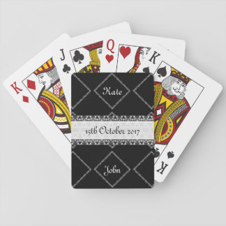 Classic Black and White Playing Cards